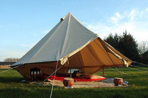 Sibley / Bell tent by CanvasCamp.com, via Flickr