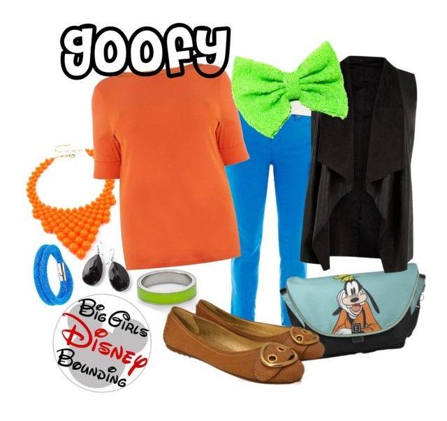 """Goofy Plus Size Disney Bounding"" by bgdisneybound on Polyvore featuring Kenny & Co., Ippolita, Swarovski, Carshoe, Amrita Singh, Lauren Ralph Lauren and plus size clothing"