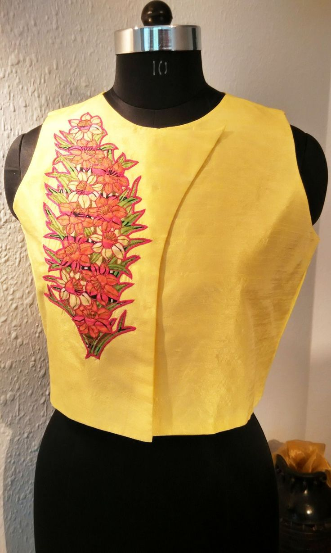 Silk jacket  #trendyjacket #jacket #ethnic  http://mytailor.in