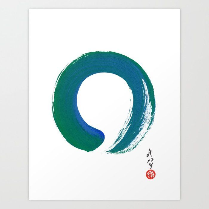 Modern Minimalist Art Zen Wall Art Enso Painting By Lenna Arty Lennaarty Modernart Walldecor Contemporaryart Homedecor C Zen Painting Zen Wall Art Zen Art