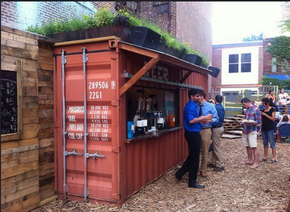 Horticultural society pop up garden philadelphia pa for Village craft container home