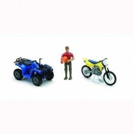 Xtreme+Dirt+Bike+and+Four+Wheeler+Adventure+Playset