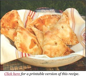 Gooseberry Patch -- Just Peachy Hand Pies = yes, please