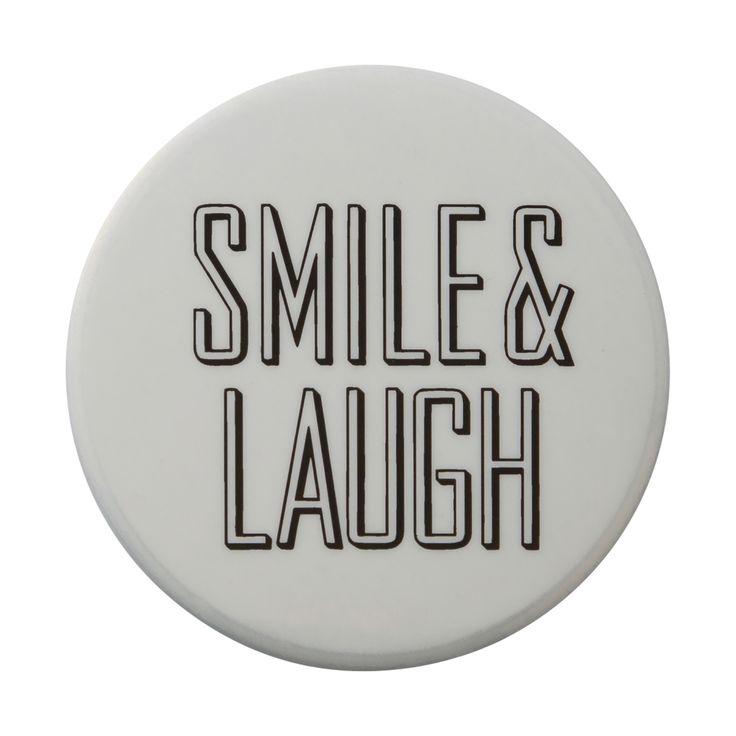 缶バッジ SMILE &LAUGH Francfranc(フランフラン)公式サイト|家具、インテリア雑貨、通販