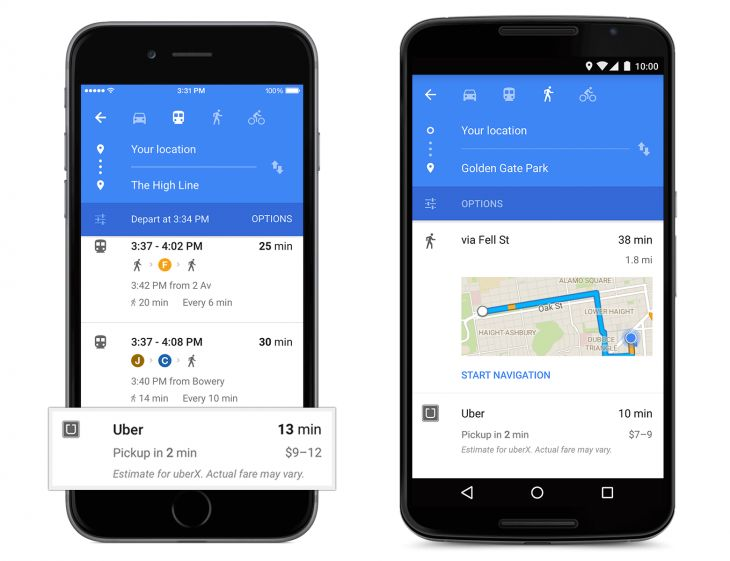 Latest web & technologies : Google Maps gets a fresh new Material Design on mo...