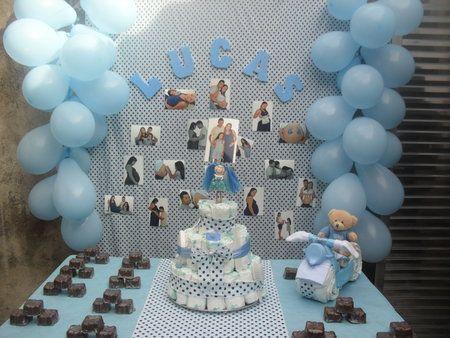 Baby shower decoraciones con globos babies showers and - Decoraciones baby shower ...