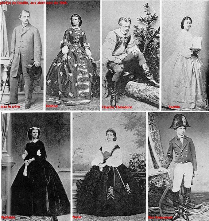 Broers en zussen van Elisabeth
