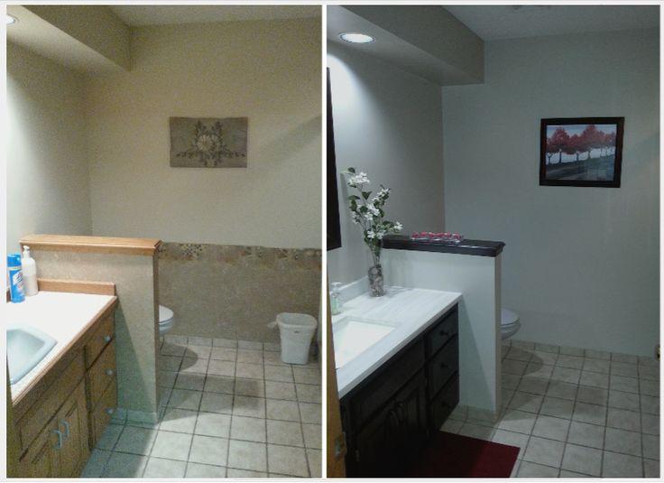 26 best images about n o bathroom update on pinterest for Bathroom remodel under 500