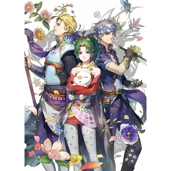 Doujinshi - Anthology - Final Fantasy VI / Celes & Tina (Final Fantsy Series) & Edgar Roni Figaro (Party) / Karindrops*f