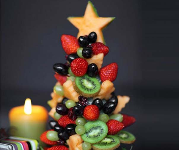 Fruit tree for the Christmas and New Year.