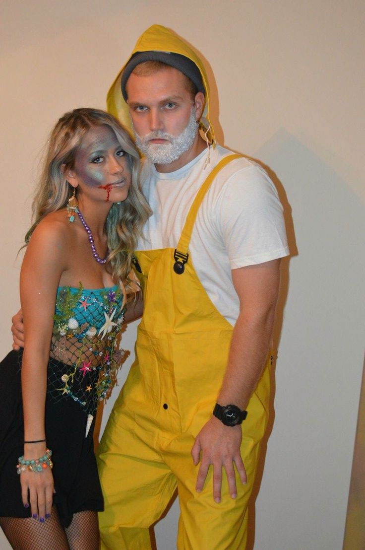 Mermaid and a fisherman
