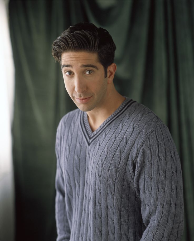 "Friends S4 David Schwimmer as ""Ross Geller"""