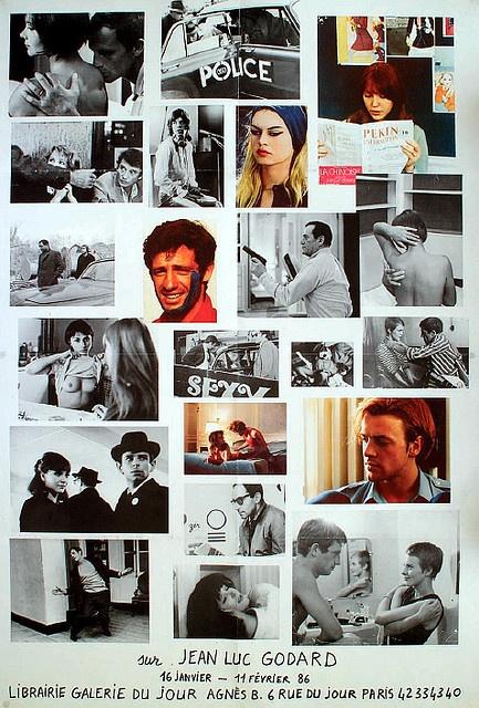 Jean-Luc Godard! Master of 'kiss kiss bang bang + didactic marxist lecture' <3