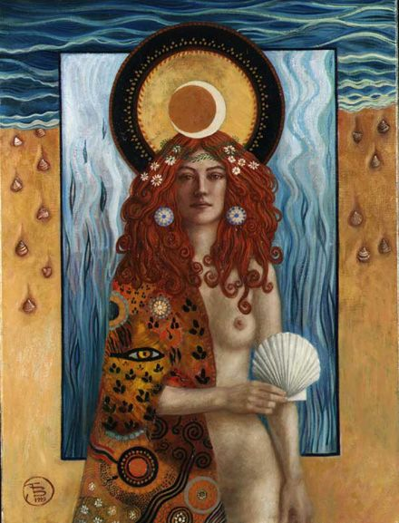 "Jake Baddeley                                         ""Venus""                                                               Oil on canvas, 1999."