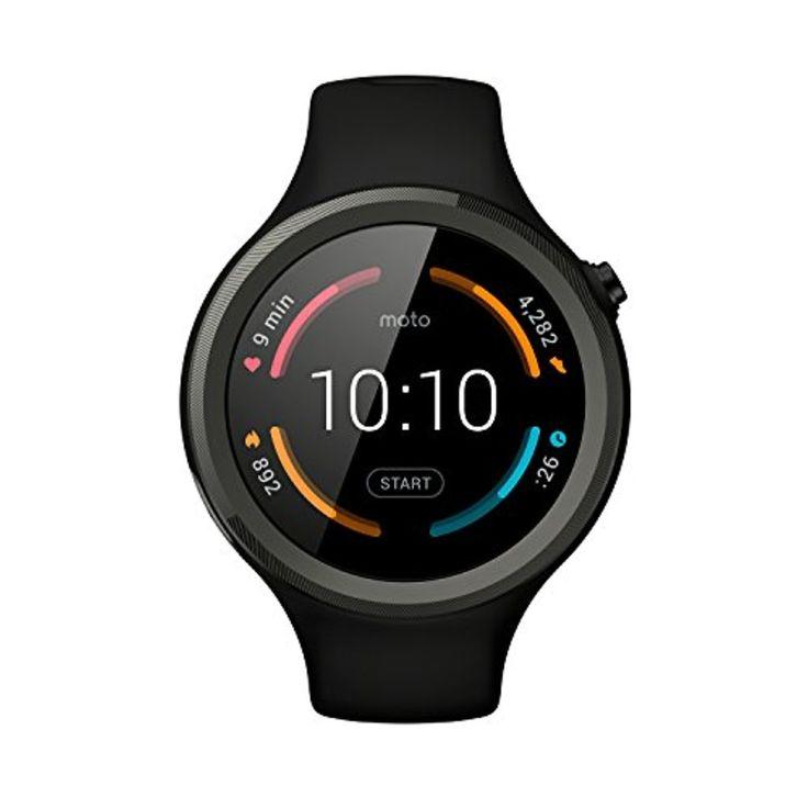 Motorola Moto 360 Sport Montre connectée Android Wear Noir 2017 #2017, #Montresbracelet http://montre-luxe-femme.fr/motorola-moto-360-sport-montre-connectee-android-wear-noir-2017/