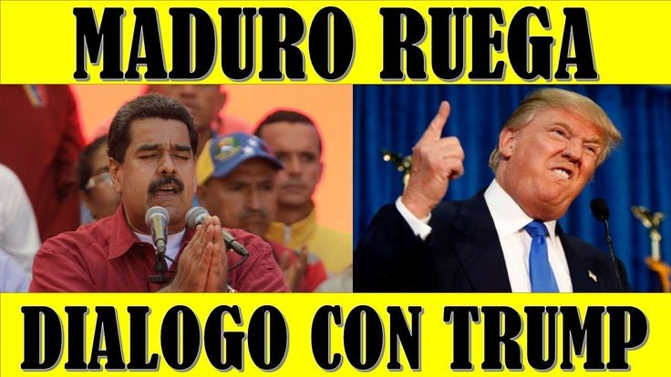 ultima hora VENEZUELA EEUU 21 FEBRERO 2018||MADURO le Ruega a TRUMP llegar a un DIALOGO