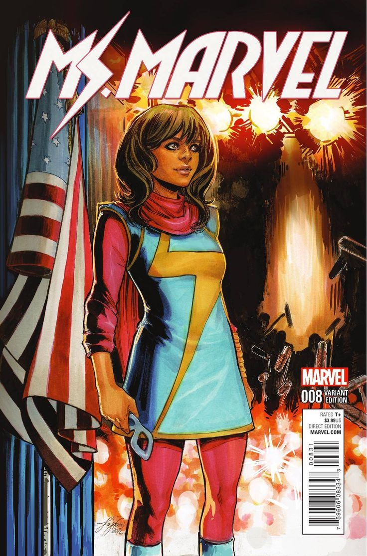 Preview: Ms Marvel #8, Story: G Willow Wilson Art: