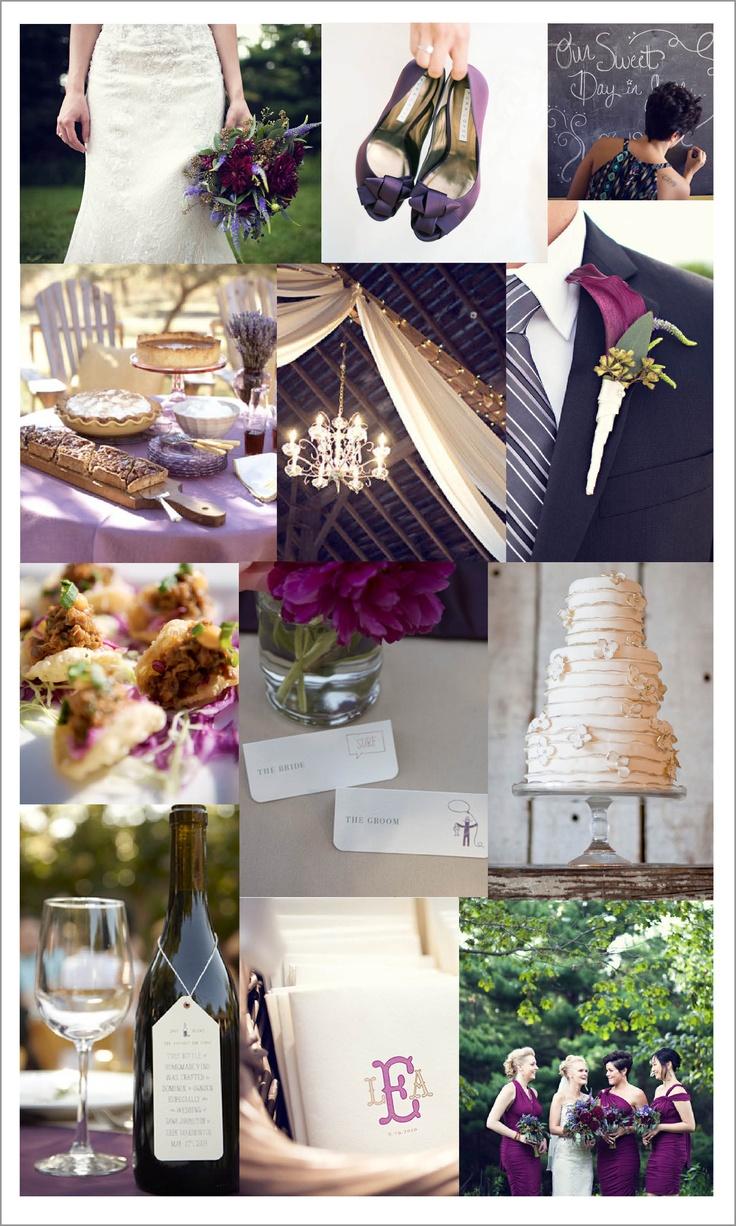 26 best eggplant and silver wedding ideas for jennifer geoff images on pinterest purple. Black Bedroom Furniture Sets. Home Design Ideas