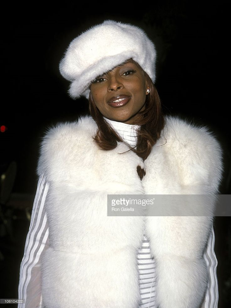 Mary J. Blige during The 41st Annual GRAMMY Awards - Arista Records Pre-Party at Beverly Hills Hotel in Beverly Hills, California, United States.