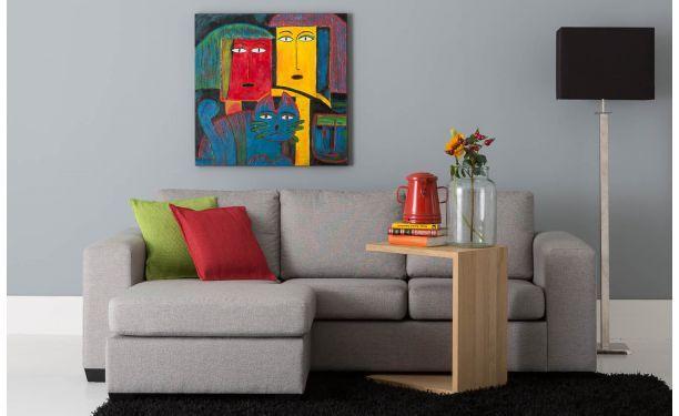 25 beste idee n over kleine appartementen op pinterest decoratie klein appartement klein - Eigentijdse woonkamer decoratie ...