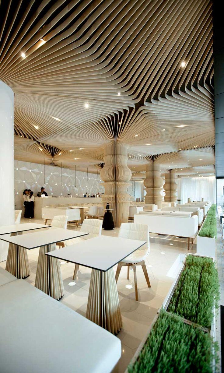 El lounge actual, minimalismo en combinación con materiales nobles » Blog del Diseño