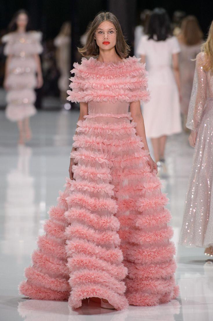 Défilé Ralph & Russo printemps-été 2018 Couture