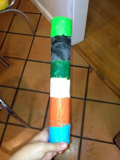 meremade: kid craft: rain sticks