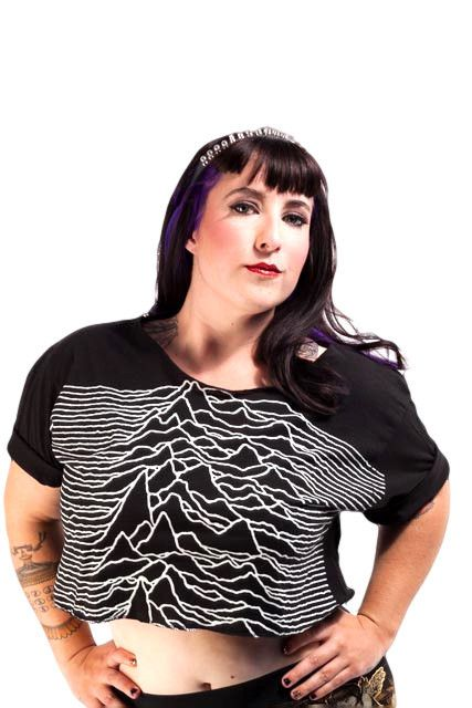 Joy Division Pulsar Wave Crop Top | another big fat summer ...