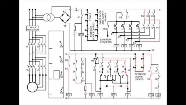 Ladder Logic Diagram For Elevator Electrical Wiring Diagram Ladder Logic Circuit Diagram