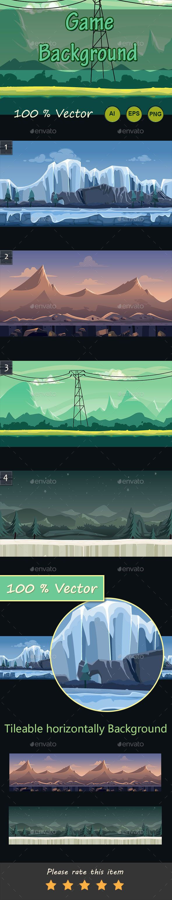 5 Game Backgrounds Download here: https://graphicriver.net/item/5-game-backgrounds/16900472?ref=KlitVogli