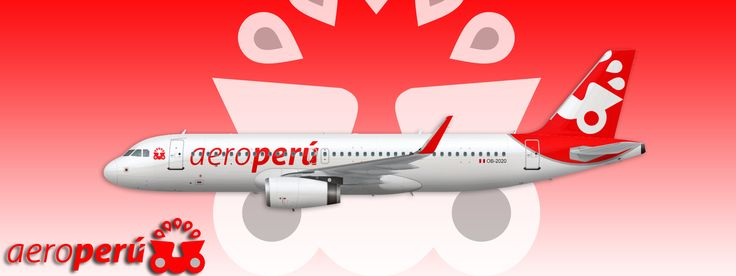 Airbus A320 Aeroperu - America: Real and fictional Liverys - Gallery - Airline Empires