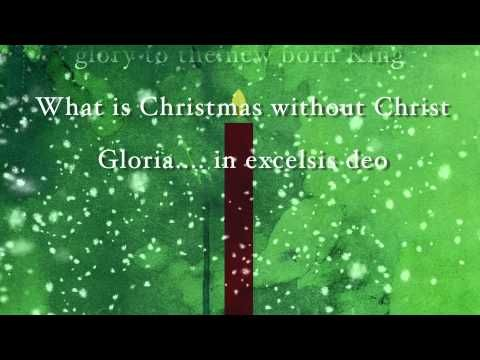 I just found this song and really like it already...really emphasizes the true meaning of Christmas