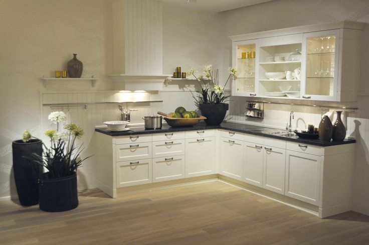 Landelijke Keuken L Vorm : De Keuken op Pinterest – Keuken Wandklokken, Glasmoza?ek en Keukens