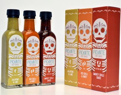 Image result for contemporary hot sauce label