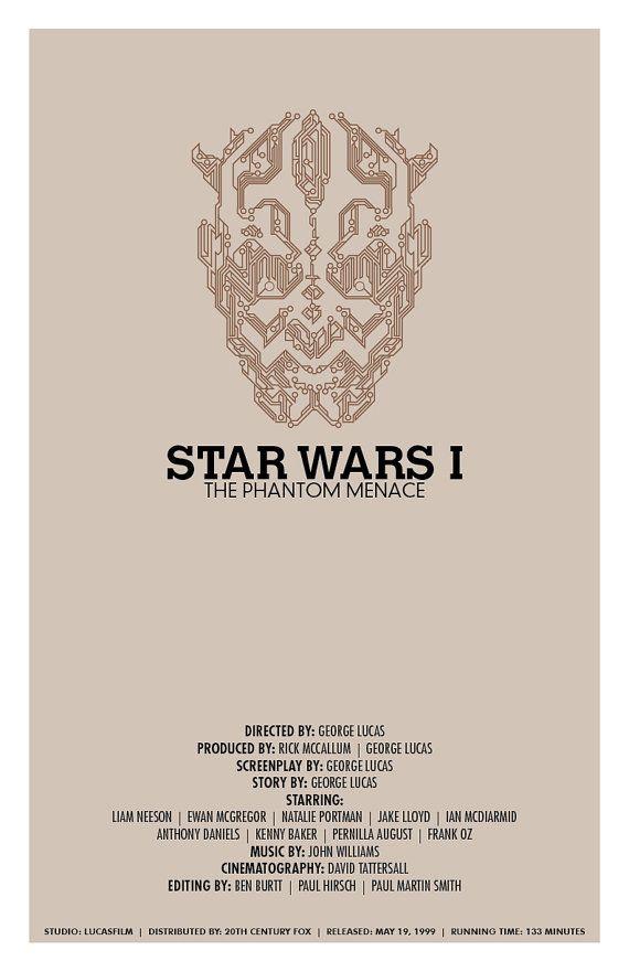 Star Wars I: The Phantom Menace (Star Wars New Trilogy Set) | By: Christian Petersen / The Geekographer