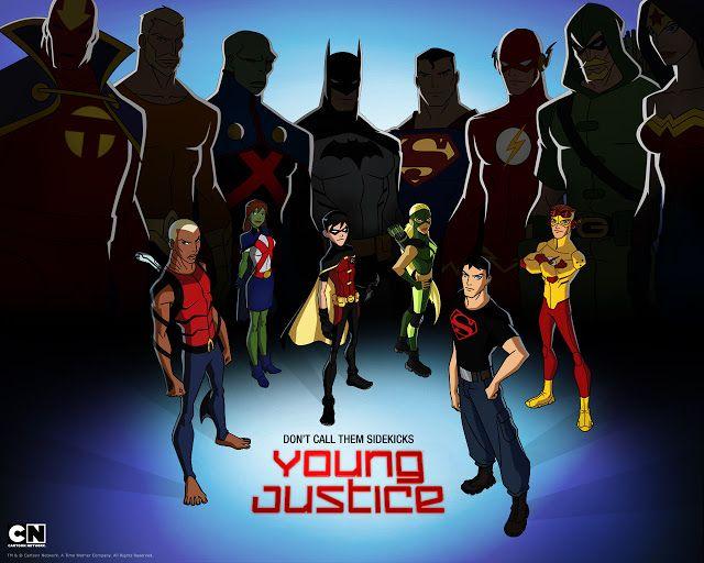 Animes & Download's: YOUNG JUSTICE - JUSTIÇA JOVEM - 1° TEMPORADA - SER...