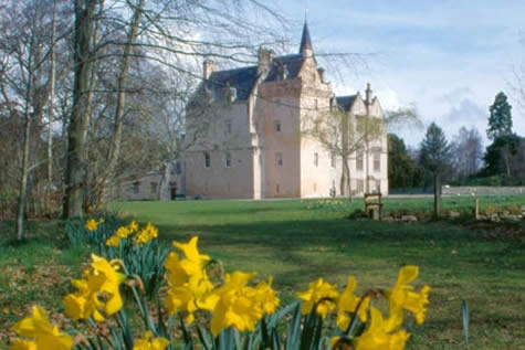 Brodie Castle near Nairn, Scotland.  Not too far from Culloden but the Brodies apparently had no taste for fighting with Bonnie Prince Charlie!