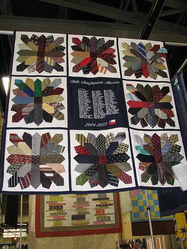 Tie Quilt this is on my bucket list for hubby: