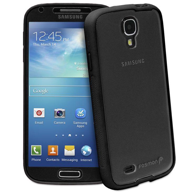 New Black Hybrid Impact Hard Case Cover Screen for Samsung Galaxy S IV S4 i9500  #samsung #samsungmobile