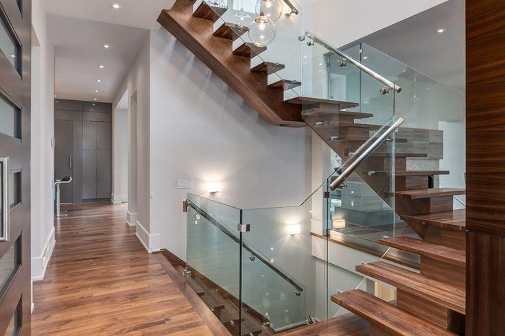 Contemporary Staircase by Johnson & Associates Interior Design