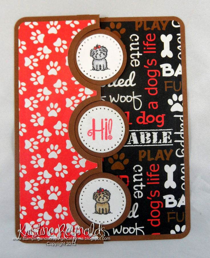 Stamping & Scrapping in California: TSOL: Three new stamp sets! Supplies: Sizzix Framelits Die Set 10PK - Card, Triple Circle Flip-its