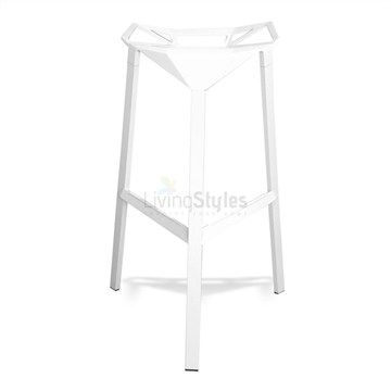 Konstantin Replica Web Bar Stool in White
