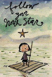 Follow your north star....and live your best life. Edu links to theme units, downloads, and all things teacher. Fablevision from Peter Reynolds who wrote THE DOT
