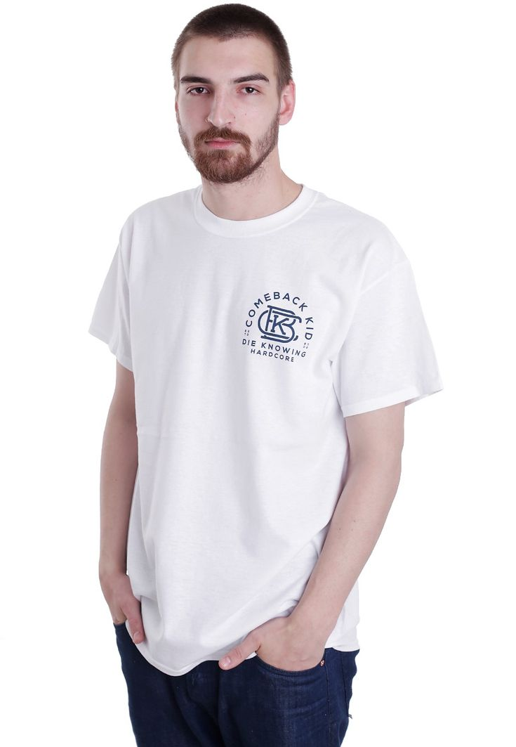 Comeback Kid - Wasted Arrows White - T-Shirt - Official Merch Store - Impericon.com UK