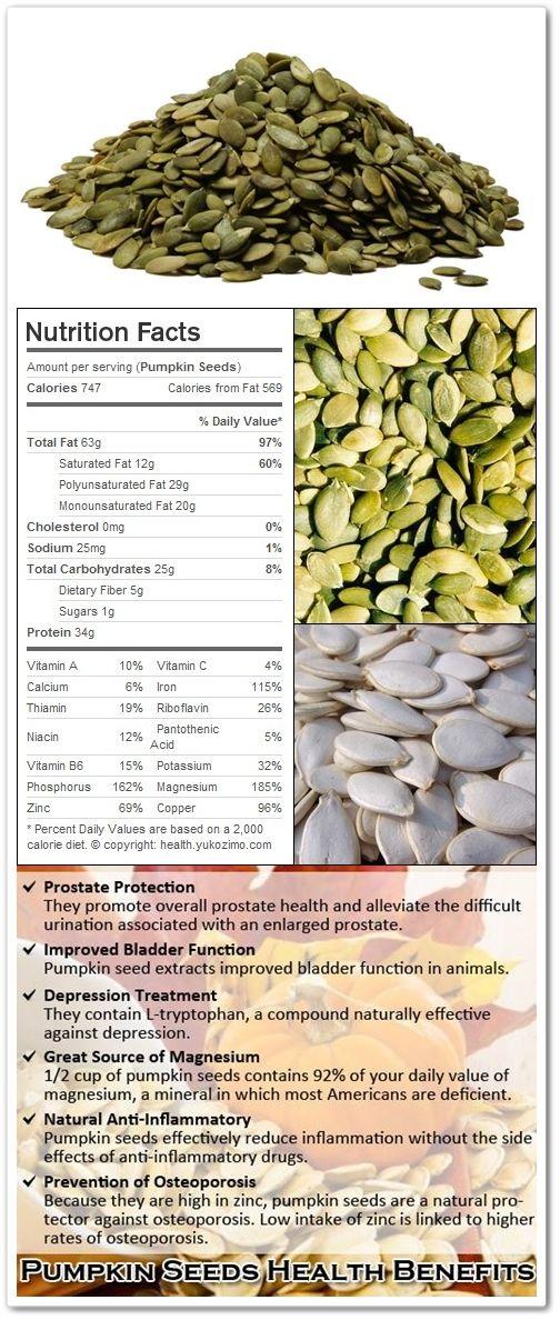 pumpkin seeds nutritional