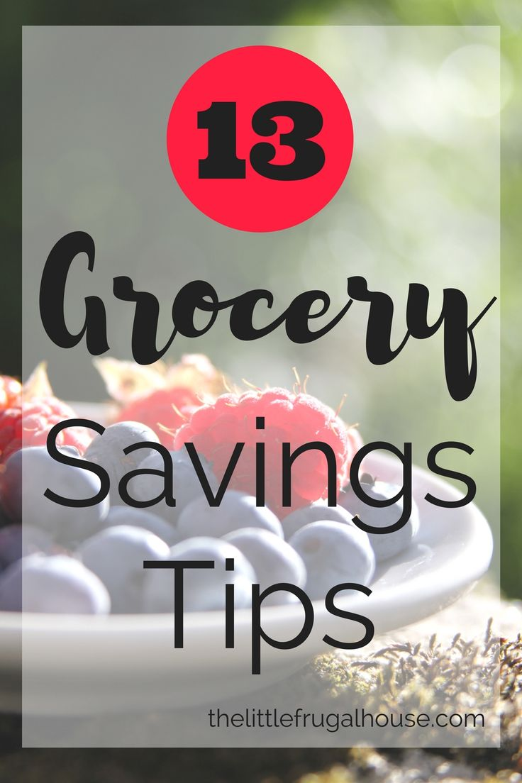 Your grocery budget can easily be altered without a major life change. Try a few of my best grocery saving tips and see the savings add up!