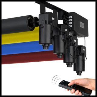 Equipements du studio photo, Location studio photo, cherche studio photo à louer, support de fonds studio électrique,