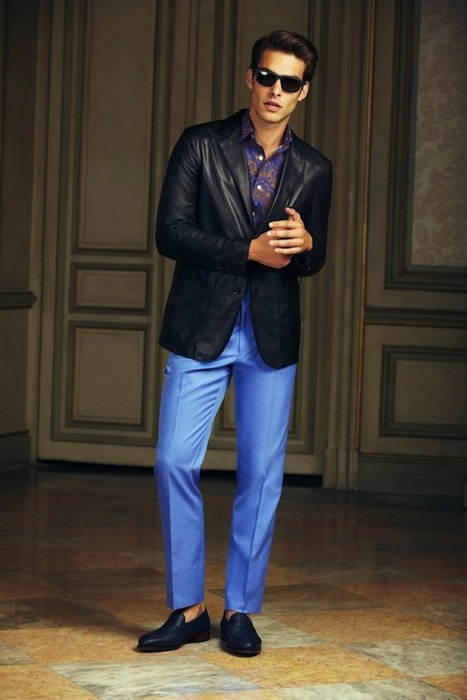 Jon Kortajarena for Loewe Spring-Summer 2013 Lookbook~ the Classical Elegance
