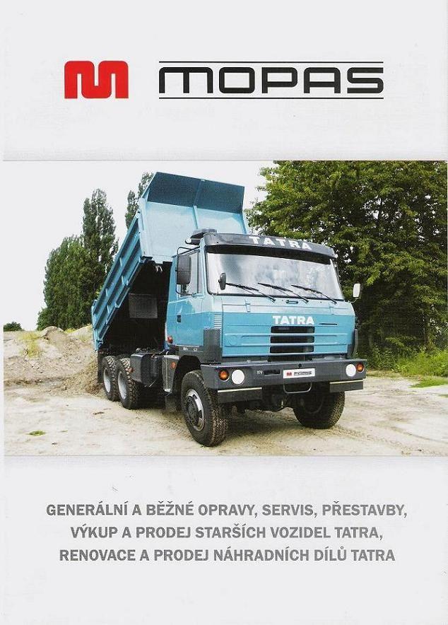 Prospekt vozidel TATRA - 1. str