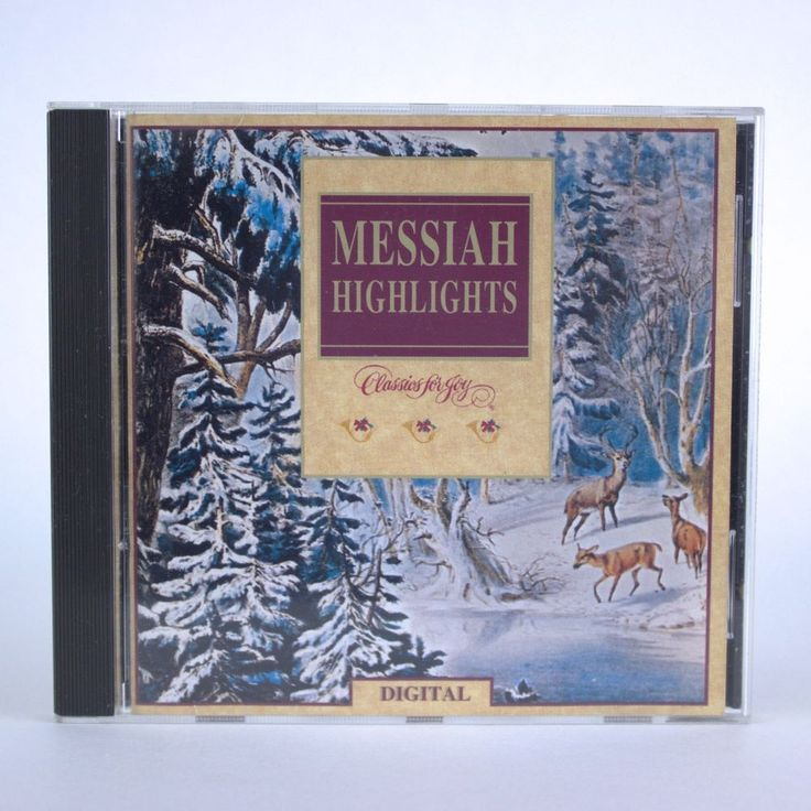 Messiah Highlights: Classics for Joy by Various Artists Christmas Music Audio CD